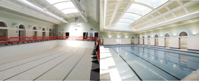 £7.5m restoration of City Baths going swimmingly